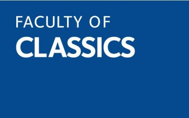 Faculty of Classics Logo