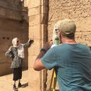Graffiti recording at Karnak