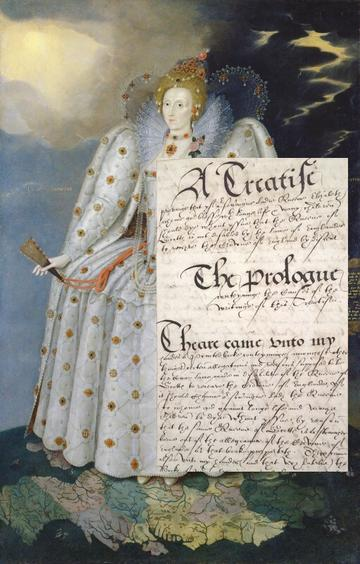 Queen Elizabeth I ('The Ditchley portrait') by Marcus Gheeraerts the Younger
