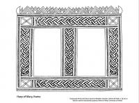 drawing harp of mary frame