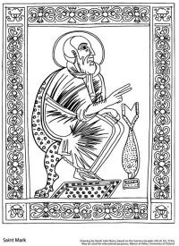 drawing mark garima gospels