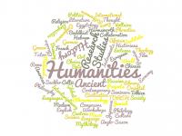 Humanities Word Cloud