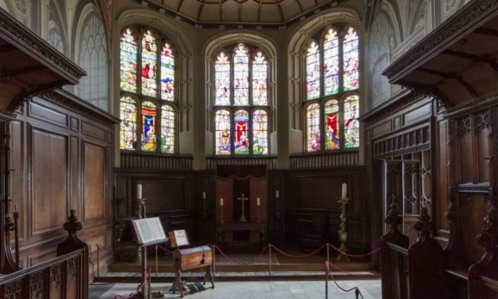 The Vyne - Tudor chapel interior